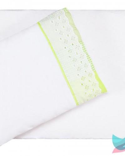Detalhes do produto Colchonete para Carrinho Xadrezinho Verde