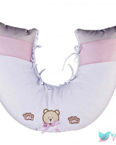 Detalhes do produto Almofada de Amamentação Ursinha Rosa