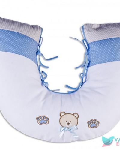 Detalhes do produto Almofada de Amamentação Ursinho Azul