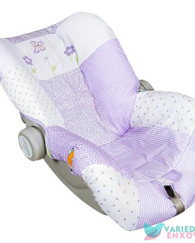 Detalhes do produto Capa de Bebê Conforto Dara