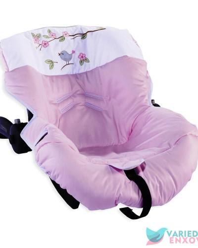 Detalhes do produto Capa de Bebê Conforto Passarinho