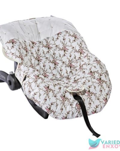 Detalhes do produto Capa de Bebê Conforto Pérola