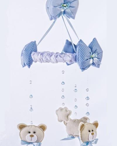 Detalhes do produto Móbile Urso Azul
