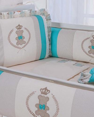 Detalhes do produto Kit Berço Tiffany + Peças